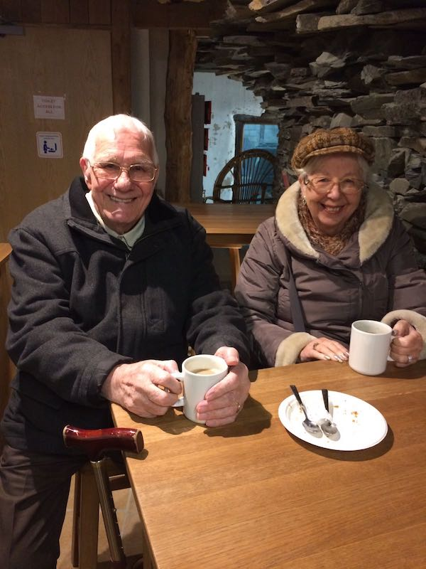 Amys Care Trips Out - Tea at Honister