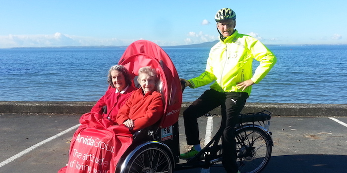 Trishaw At Silloth