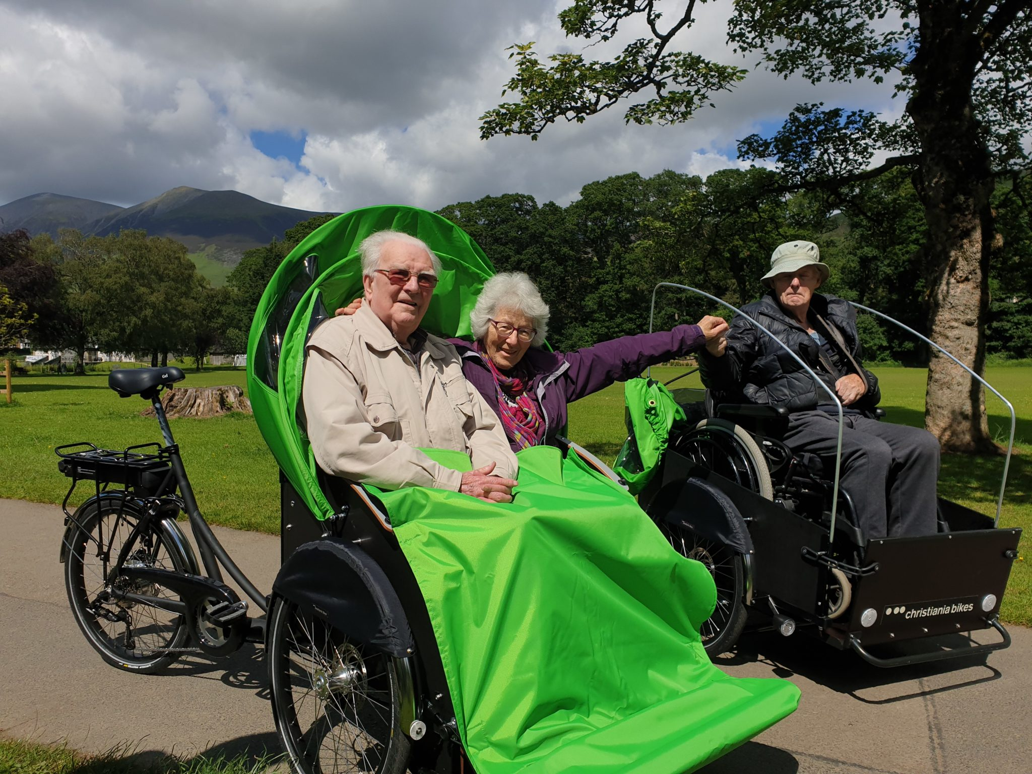 AMYS CARE TRISHAW LAUNCH: POSTPONED